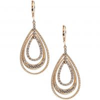 Ladies Judith Jack PVD Gold plated Earrings 60341037-887