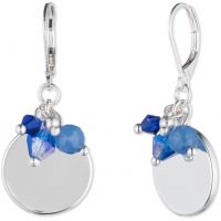Ladies Nine West Silver Plated Earrings