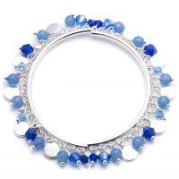 Ladies Nine West Silver Plated Bracelet 60431123-276