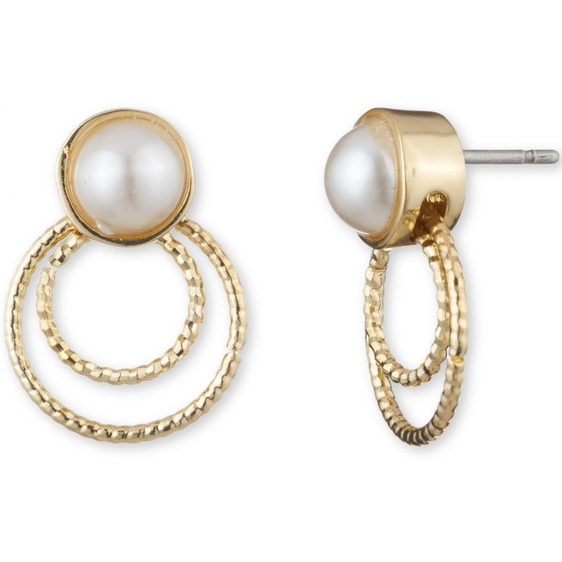 Ladies Anne Klein Gold Plated Earrings 60428074-887