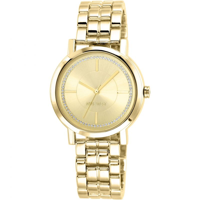 Ladies Nine West Watch NW/1642CHGB