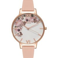 Damen Olivia Burton Winter Garden Floral Print Watch OB15WG10