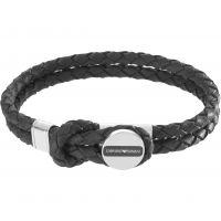 Hommes Emporio Armani Acier inoxydable Signature Bracelet