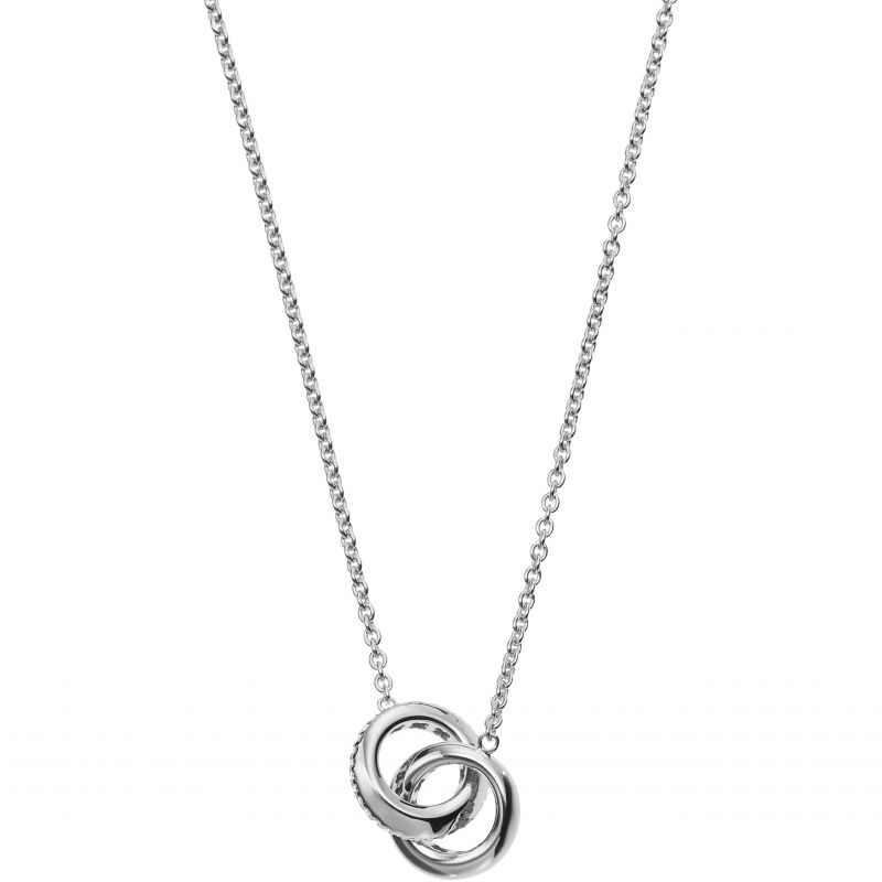 Ladies Emporio Armani Sterling Silver Stelle Necklace EG3294040