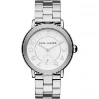 Marc Jacobs Riley Damklocka Silver MJ3469