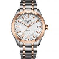 Herren Rotary Schweizer hergestellt Legacy Automatik Uhr