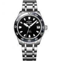 Damen Rotary Schweizer hergestellt Legacy Tauchen Automatik Uhr