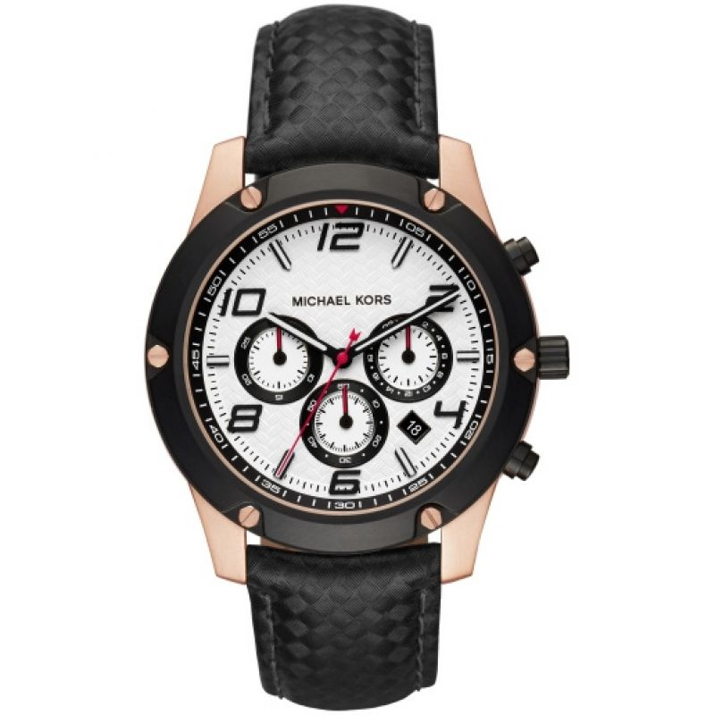 Mens Michael Kors Caine Chronograph Watch MK8489