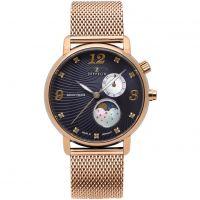Damen Zeppelin Luna Mondphase Watch 7639M-3