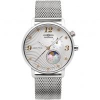 Damen Zeppelin Luna Mondphase Watch 7637M-1