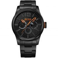 Hugo Boss Orange Paris Herenhorloge Zwart 1513239