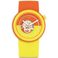 Swatch Pop-Over Unisex horloge Meerkleurig PNO100