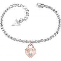 Ladies Guess Rhodium Plated All About Shine Bracelet UBB82105-L