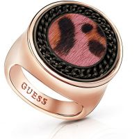 Ladies Guess Rose Gold Plated Animal Twist Ring